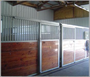 Rockville Barn Stalls